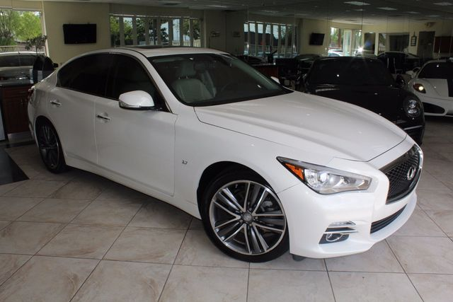 2014 Infiniti Q50 Premium GORGEOUS 2014 INFINITI Q50 37 ONE OF A KIND CARFAX CERTIFIEDCLEAN