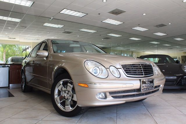 2005 Mercedes E-Class 32L CARFAX CERTIFIED LOW MILES ONE OWNER CLEAN KEY LESS ENTRY HAR