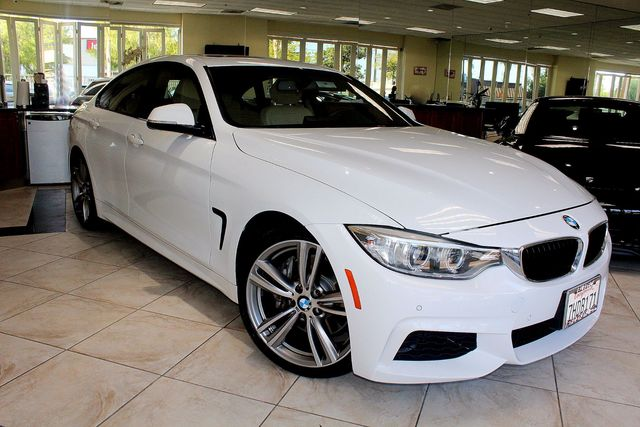 2015 BMW 435i Gran Coupe 435i M PACKAGE CLEAN CARFAX 1 OWNER M PACKAGE MOON ROOF NAVIGATIO