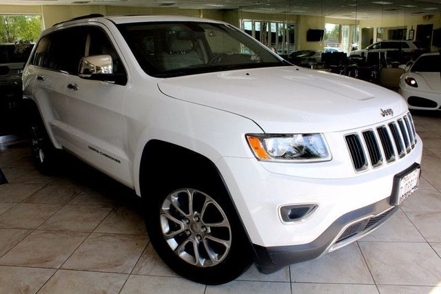 2015 Jeep Grand Cherokee Limited CARFAX CERTIFIED ONE OWNER FACTORY WARRANTY KEYLESS ENTRY