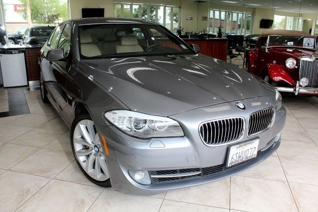 2012 BMW 535i CARFAX CERTIFIED ONE OWNER CALIFORNIA CAR BACK UP CAMERA NAVIGATION MOON R