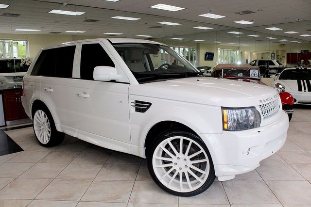2010 Land Rover Range Rover Sport HSE LUX CARFAX CERTIFIED NAVIGATION BACK-UP CAMERA LUXURY