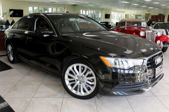 2014 Audi A6 20T Premium Plus CARFAX CERTIFIED LOW MILES NAVIGATION BLUETOOTH MOON ROOF