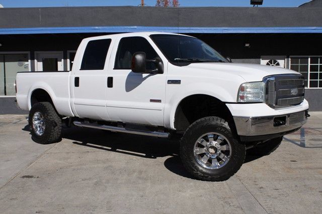 2007 FORD SUPER DUTY F-250, LARIAT, TURBO DIESEL, 4 WHEEL DR