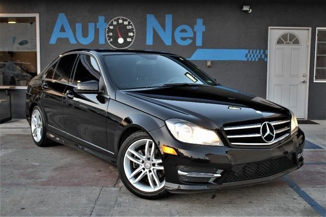 2014 Mercedes C 250 Luxury Sport and Premium WOW This 20014 MBZ C 250 is Black on Black Interior i
