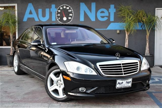 2007 Mercedes S550 55L V8 This Amazing 2007 Sedan Mercedes-Benz S550 55 is Black on dark Beige