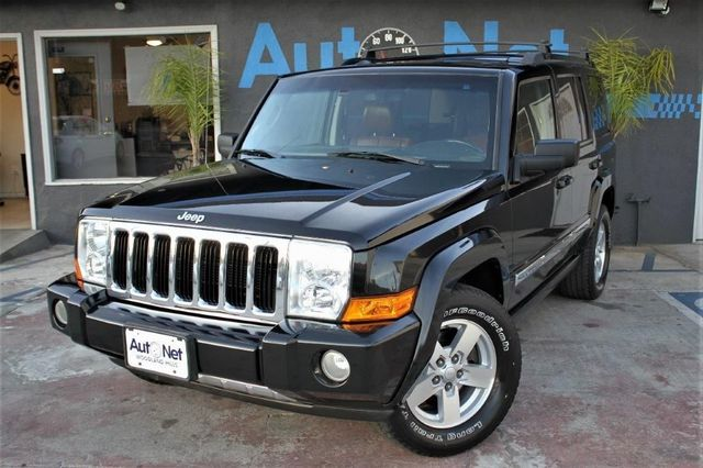2008 Jeep Commander Limited The 2008 Jeep Commander is a Considerably Powerful Vehicle Off-Road T