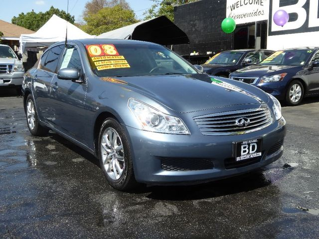 2008 Infiniti G35 Sedan Base ELEGANT SEDAN CLEAN INSIDE AND OUT SMOOTH RIDE COME IN FOR A TEST D