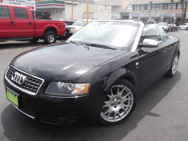 2006 Audi S4 Talk about a sophisticated sleeper Our performance inspired Audi S4 Cabriolet is an a
