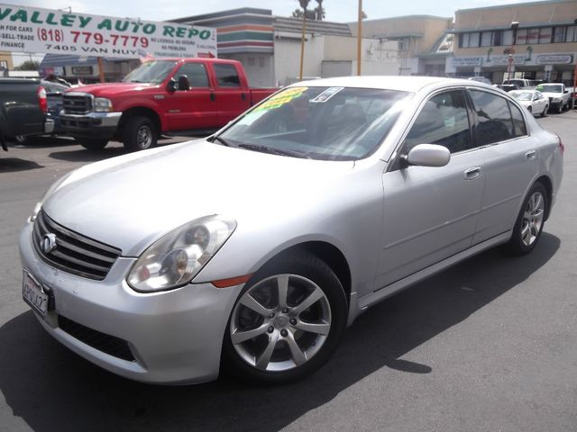 2006 Infiniti G35 Sedan  76k miles VIN JNKCV51E26M521064   FOR INTERNET SPECIAL CALL 855-325-90