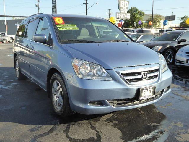 2007 Honda Odyssey EX  VIN 5FNRL384X7B012966