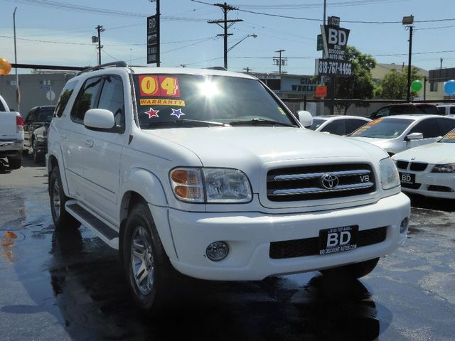 2004 Toyota Sequoia Limited  VIN 5TDZT38A04S237636
