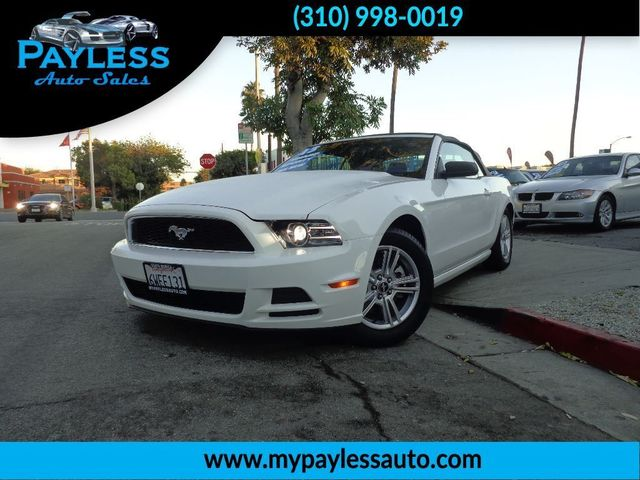 2013 Ford Mustang V6 Financing rates starting from 2 99 Bring us your trade in and TAKE this bea