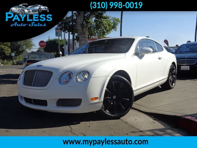 2005 Bentley Continental GT Financing rates starting from 2 99 Bring us your trade in and TAKE t