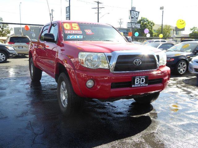 2005 Toyota Tacoma PreRunner  VIN 5TEJU62N45Z095402