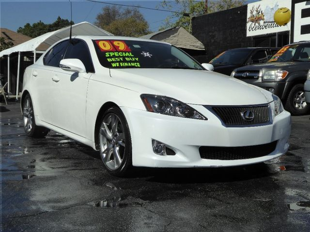 2009 Lexus IS 250  VIN JTHBK262395089522