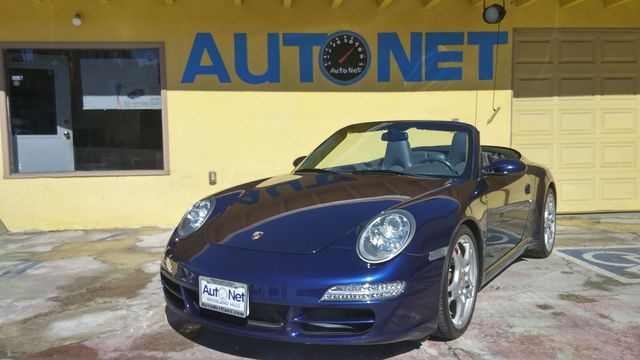 2007 Porsche 911 Carrera S Just in is this 2007 Porsche 911 Carrera S Convertible with Lapis blue