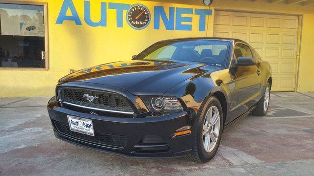 2014 Ford Mustang V6 WOW This 2014 Mustang is stunning Black on Black combo looks great Automati