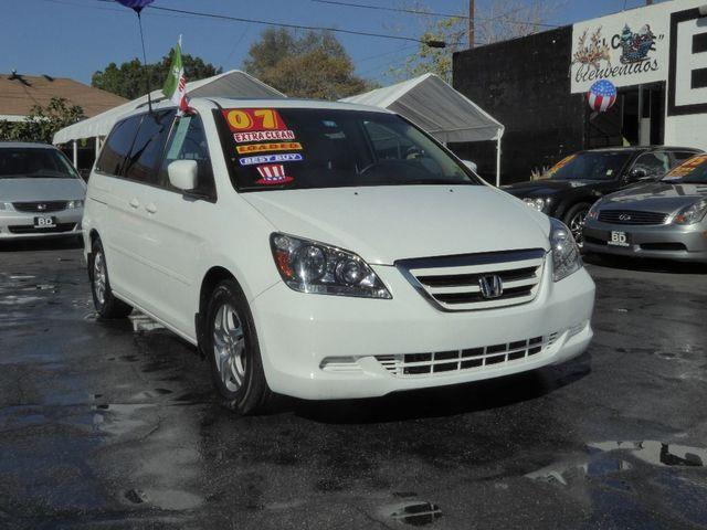 2007 Honda Odyssey EX-L  VIN 5FNRL38727B117544