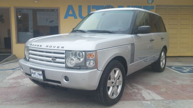 2005 Land Rover Range Rover HSE This Range Rover HSE is quite a catch Silver on Black Leather int