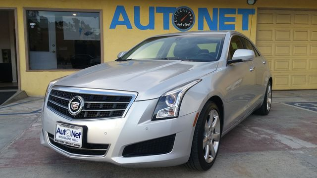 2013 Cadillac ATS Luxury WOW This Cadillac ATS is a beauty 25L 4-cylinder engine w and Automat