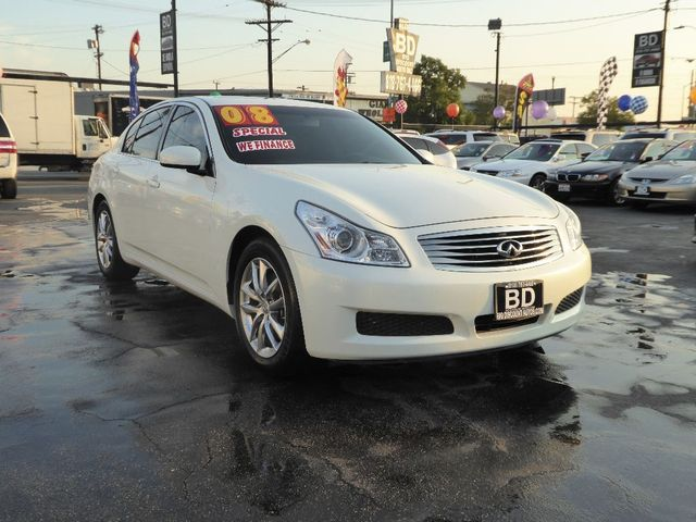 2008 Infiniti G35 Sedan Journey  VIN JNKBV61E18M202551 CALL FOR INTERNET SPECIAL 866-363-1443