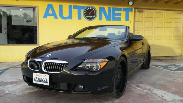 2005 BMW 645Ci Conv Sport WOW what a head-turner this car is This BMW 645Ci convertible is gorgeo