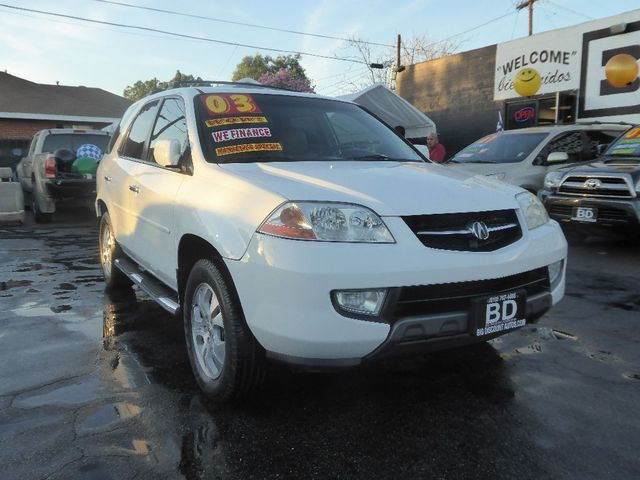 2003 Acura MDX Touring Pkg RES wNavigation Sys  VIN 2HNYD189X3H524718  CALL FOR INTERNET SPECI