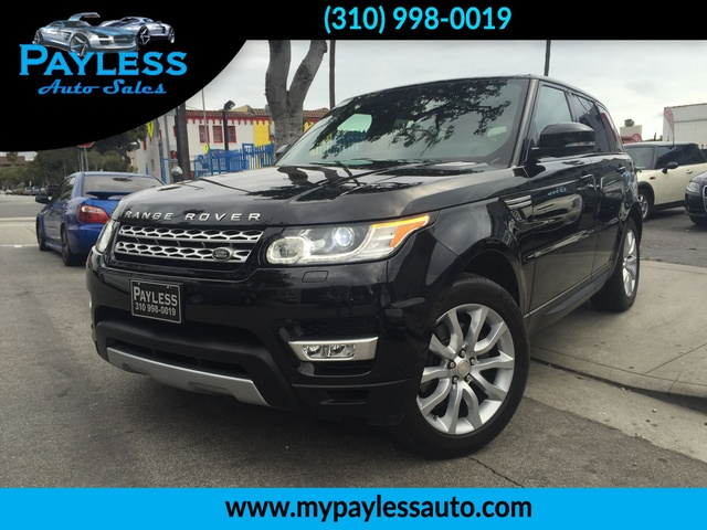 2014 Land Rover Range Rover Sport HSE FULLY LOADED LOOKS NEW SUPER CLEAN LOW MILEAGE CAR BEAUTIF