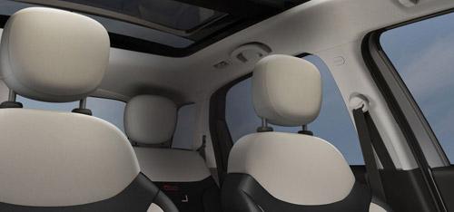 2015 FIAT 500L Reactive Front Seat Head Restraints