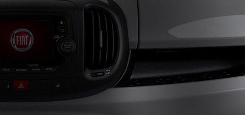 2015 FIAT 500L Instrument Panel