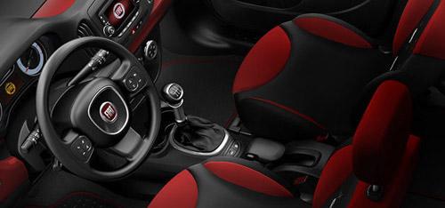 2015 FIAT 500L Spacious Interior