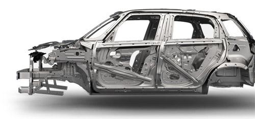 2015 FIAT 500L Steel Cage