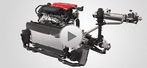 2015 FIAT 500 Abarth Engine