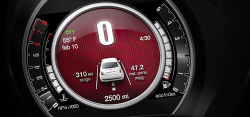 2015 FIAT 500  Electronic Vehicle Information Center