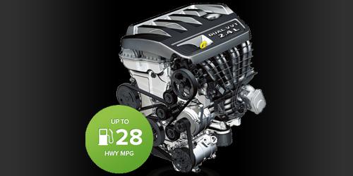 2.4L DOHC 16V engine