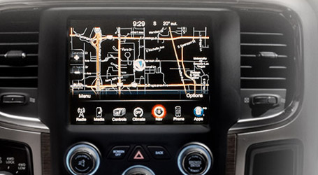 UCONNECT® TOUCHSCREEN RADIO