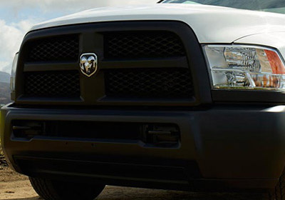 All-Black Hex Link Grille