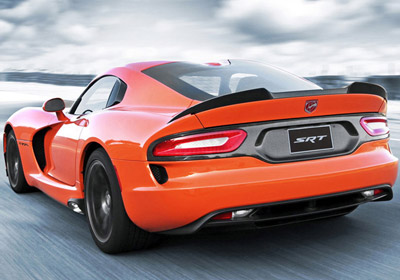 A GLIMPSE INTO THE EXTERIOR DESIGN OF THE DODGE VIPER SRT®.
