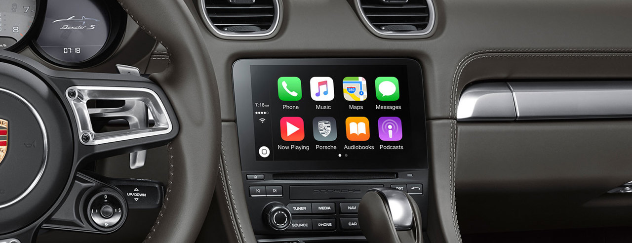 Apple<sup>&reg;</sup> CarPlay