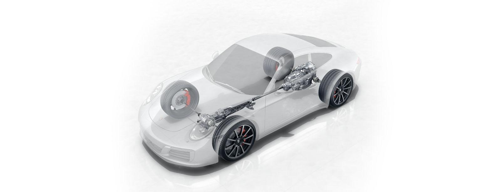 Porsche 911 Drive Train