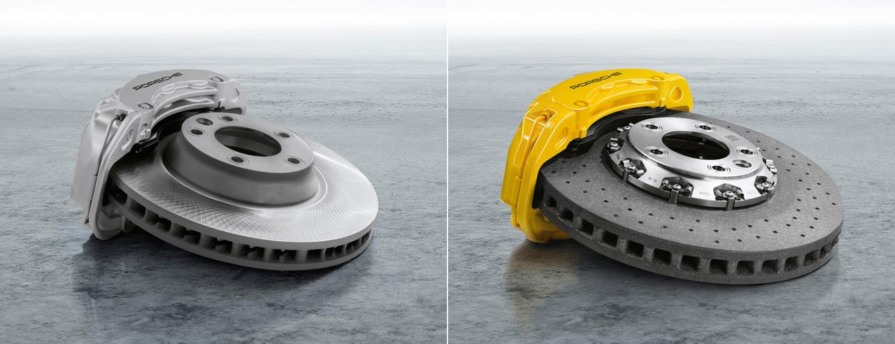Porsche Ceramic Composite Brake (PCCB)s