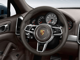 Multifunction sports steering wheel with paddles