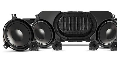 Best-in-Class available audio with Alpine® Premium Sound System