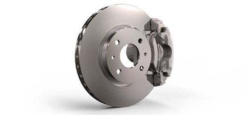 2016 FIAT 500 Four-Wheel Antilock Brake System