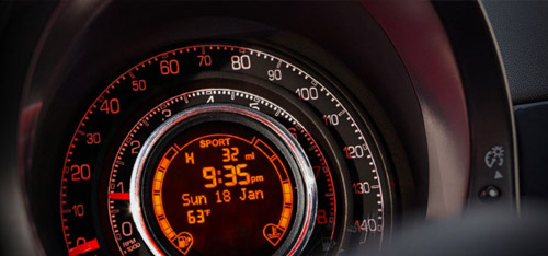 2016 FIAT 500c Electronic Vehicle Information Center