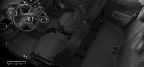 2016 FIAT 500c Cloth Bucket Seats