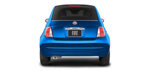 2016 FIAT 500c Rear Parking Assist