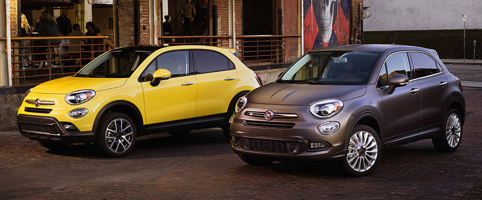 2016 FIAT 500x Overview