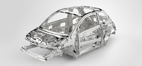 Seven airbags & steel safety frame